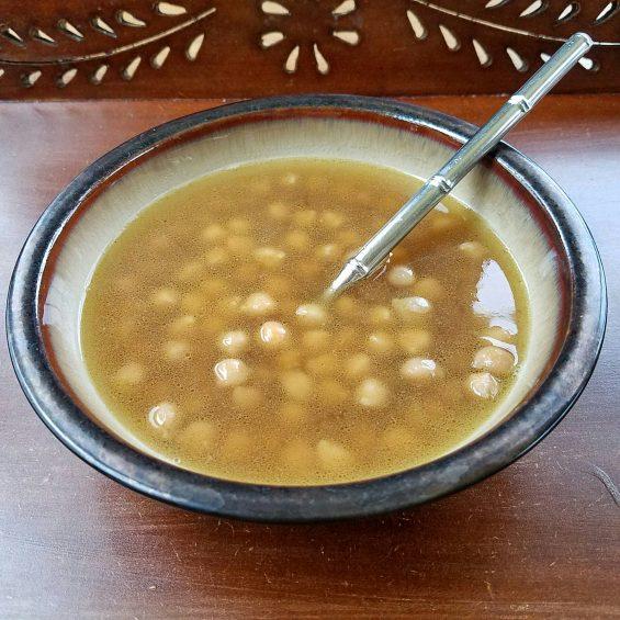 Savory Garbanzo Bean Soup