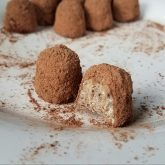Salted Cashew Cacao Crunch Truffles Recipe