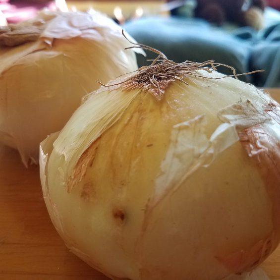 Roasted Rosemary Onions Recipe