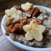Cinnamon Banana Porridge