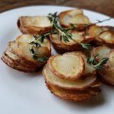 Potato Rosettes a la Col (with Extra Bonus Cheezy Roasted Mashup)