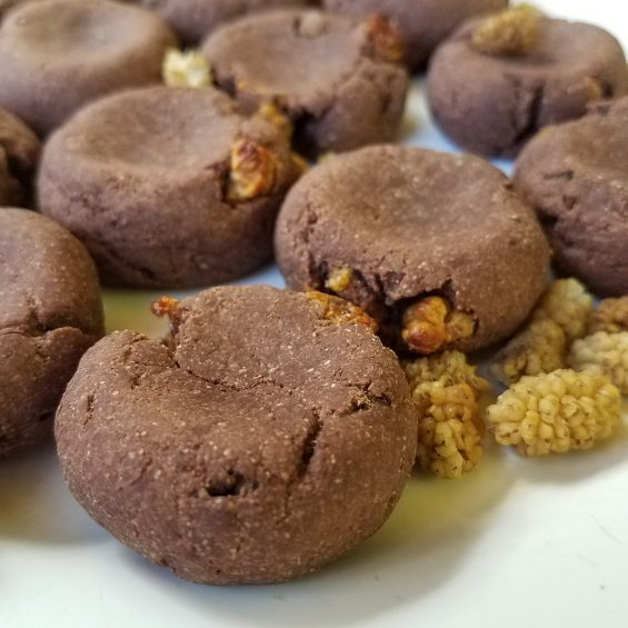 Chewy Cocoaberry Cookies recipe