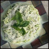 Angel Hair Zucchini with Creamy Cashew Sauce Recipe