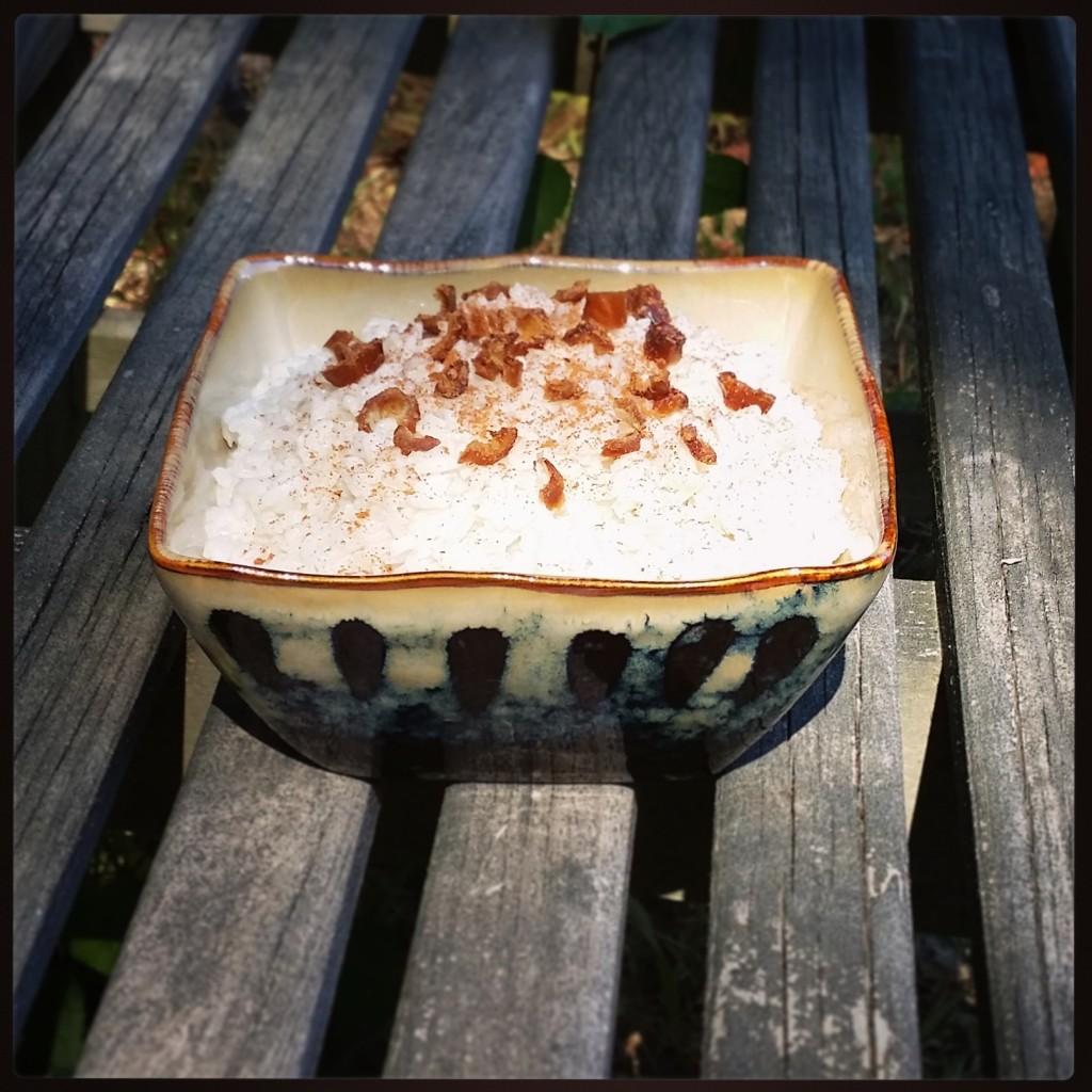 Cardamom pudding recipe - dairy-free, no added sugar