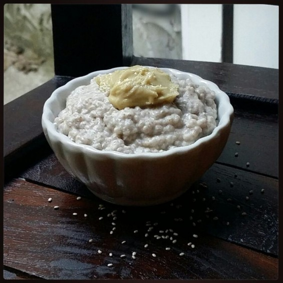 Chia Seed Pudding with Cashew