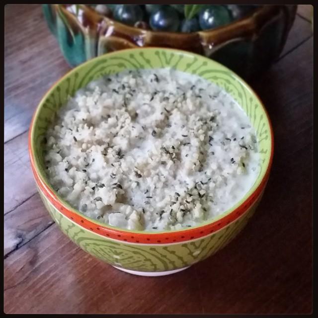 Ginger Protein Porridge Recipe