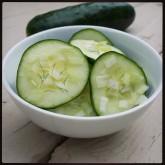 Marinated Cucumbers a la Lori