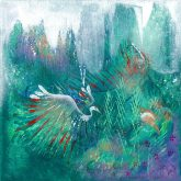 The Peace of Wild Things painting